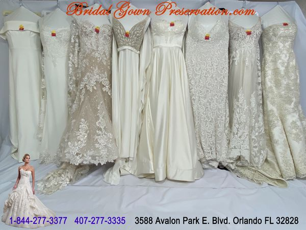 Wedding Gown Cleaning, Preservation and Restoration